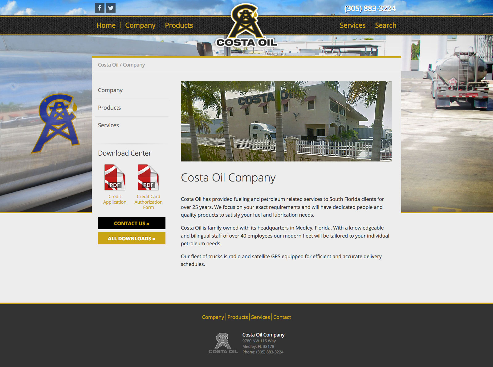 Costa Oil Company - Miami, FL