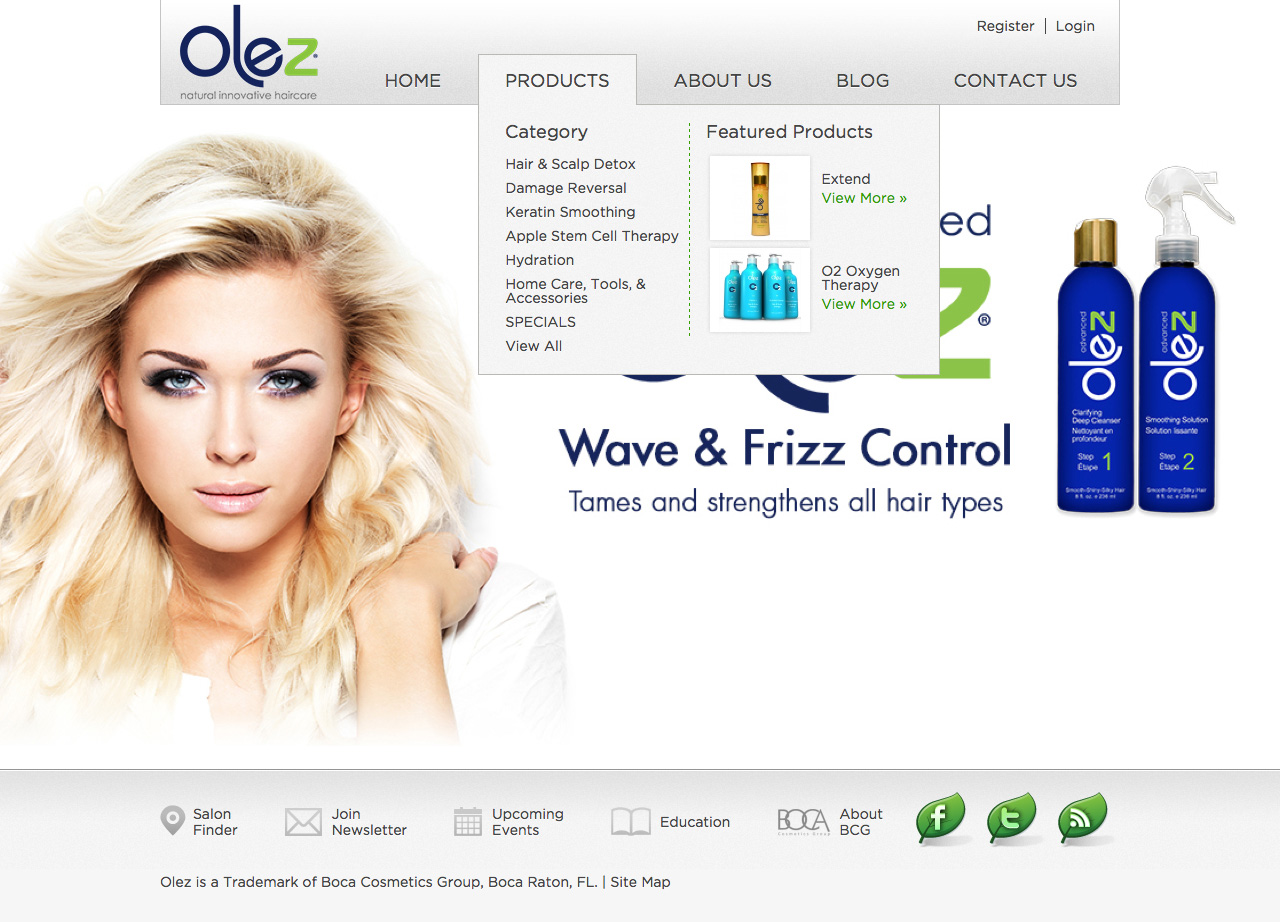 Olez Natural Innovative Haircare